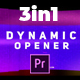 Modern and Fast Dynamic Opener - VideoHive Item for Sale