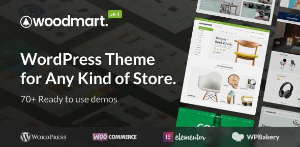 WoodMart - Multipurpose WooCommerce Theme Nulled
