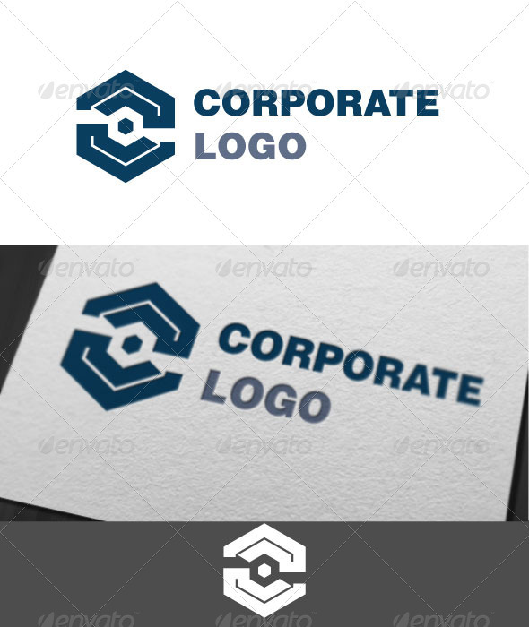Corporate Logo Template - Vector Abstract