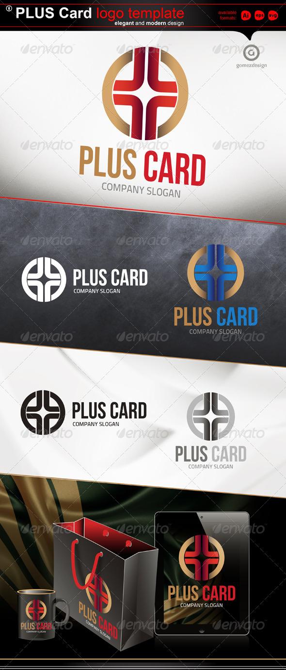 Plus card - Logo Templates