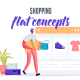 Shopping - Flat Concept - VideoHive Item for Sale