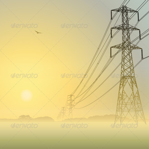 Power Lines - Miscellaneous Conceptual