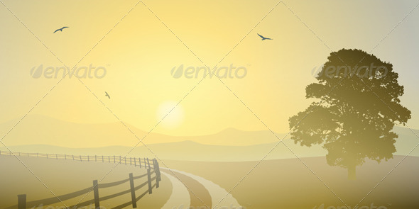 Country Landscape - Landscapes Nature