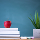 Pencils and book and blackboard. Education concept. - PhotoDune Item for Sale