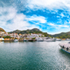 Astonishing view on Palau port from popular travel destination Bear Rock (Roccia dell'Orso). - PhotoDune Item for Sale
