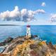 Fantastic suny day over Capo Ferro Lighthouse. - PhotoDune Item for Sale