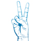 Hand Victory Sign - GraphicRiver Item for Sale