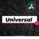 Universal and Clean Titles For DaVinci Resolve - VideoHive Item for Sale