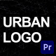 Urban Logo | For Premiere Pro - VideoHive Item for Sale