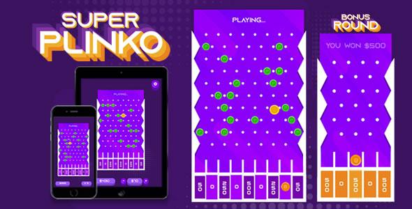 Super Plinko - HTML5 Game
