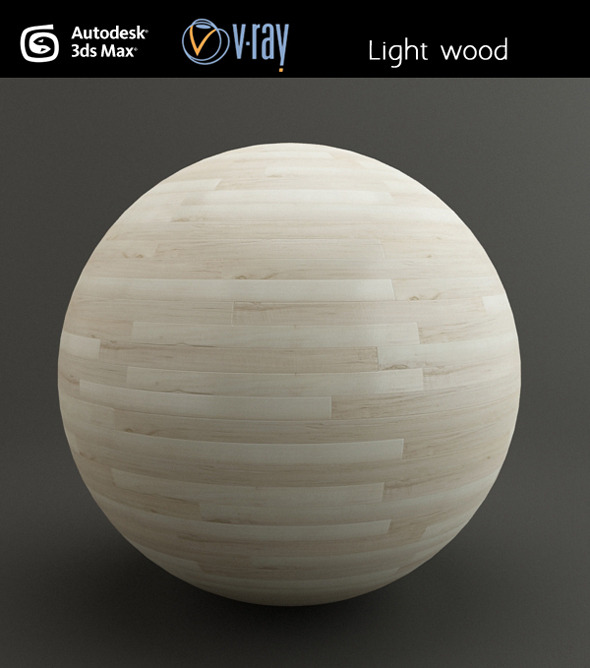 Light wood - 3DOcean Item for Sale