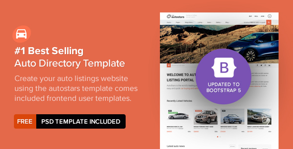 AutoStars - Responsive Car Dealership Template