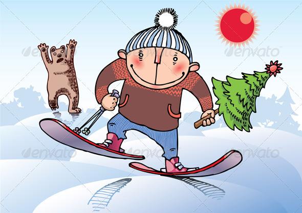 Stealing a Christmas Tree - Christmas Seasons/Holidays