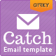 Catch Email Template - ThemeForest Item for Sale