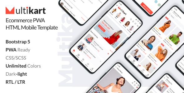 Multikart - Ecommerce PWA Mobile HTML Template