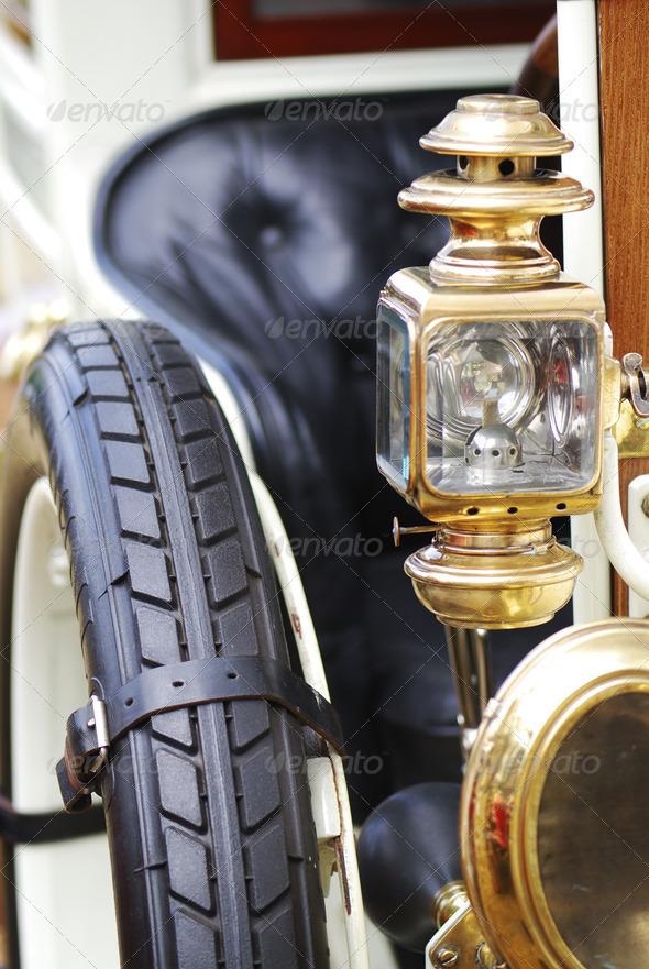 Veteran car - Stock Photo - Images