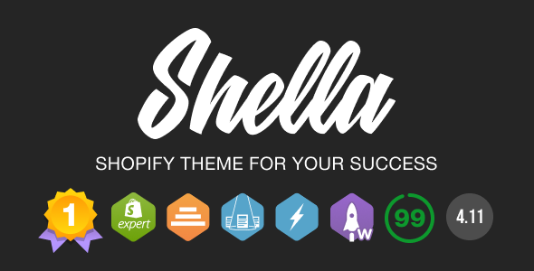 Shella - Multipurpose Shopify Theme. Fast, Clean, and Flexible. Nulled