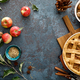 Apple pie with lattice pastry, traditional pastry dessert for Thanksgiving - PhotoDune Item for Sale