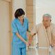 Young Asian woman nurse caregiver assistance encourage take care her senior patient  explain. - PhotoDune Item for Sale