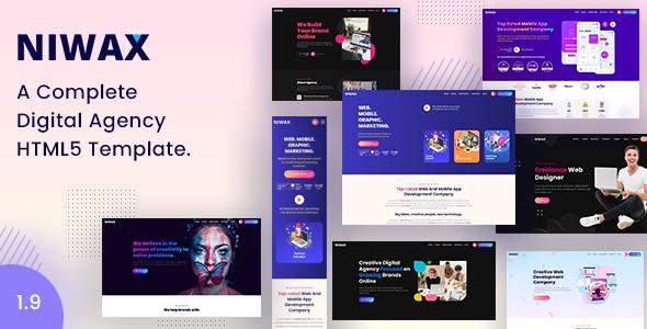 Special Niwax - Creative Agency & Portfolio HTML Template
