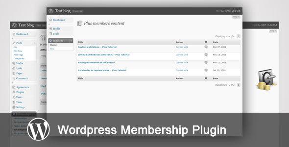 WP-Membership