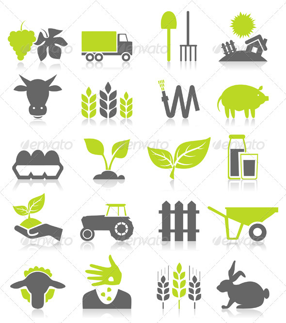 Agriculture - Miscellaneous Vectors