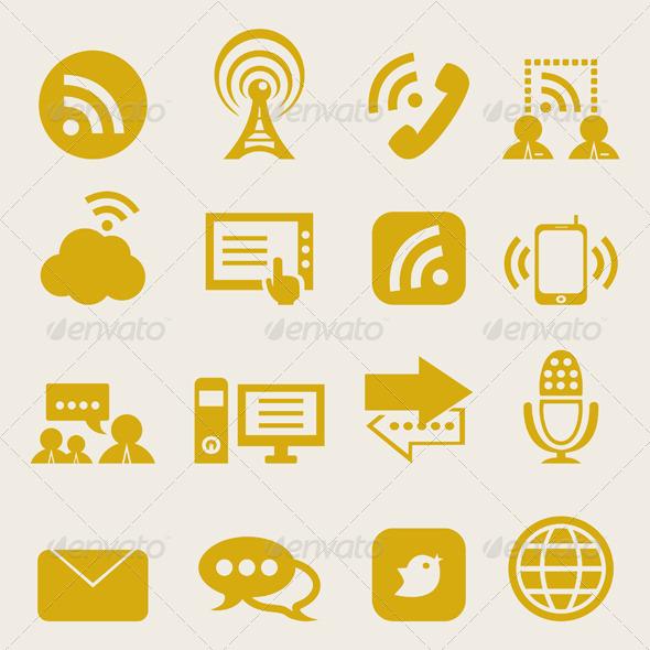 Icon communication2 - Communications Technology