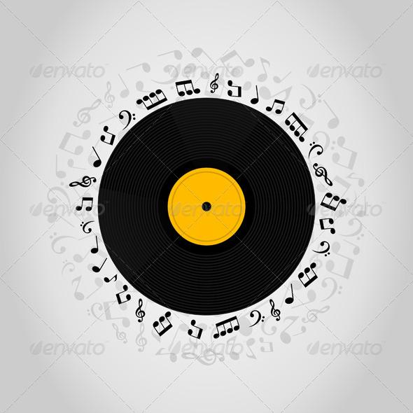 Vinyl - Miscellaneous Vectors