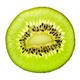 Half fresh kiwi fruit isolated on white - PhotoDune Item for Sale