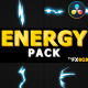 Flash FX ENERGY Elements And Transitions | DaVinci Resolve - VideoHive Item for Sale
