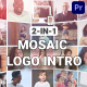 Mosaic Logo Intro - VideoHive Item for Sale