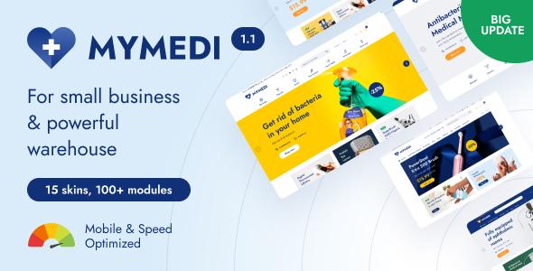 MyMedi - eCommerce vue Template
