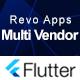 Revo Apps Multi Vendor - Flutter Marketplace E-Commerce Full App Android iOS