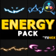 Flash FX Energy Elements And Transitions 02 | DaVinci Resolve - VideoHive Item for Sale