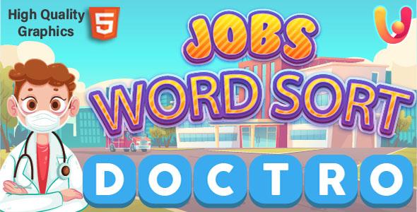 Jobs Word Sort for Kids