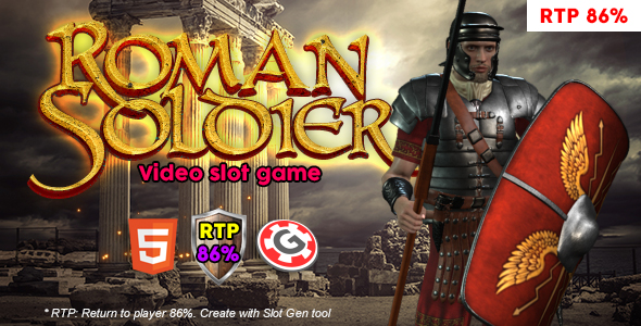 Roman Solider Video Slot
