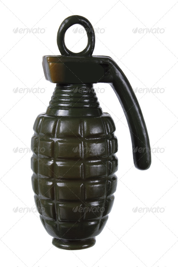 Toy Hand Grenade - Stock Photo - Images