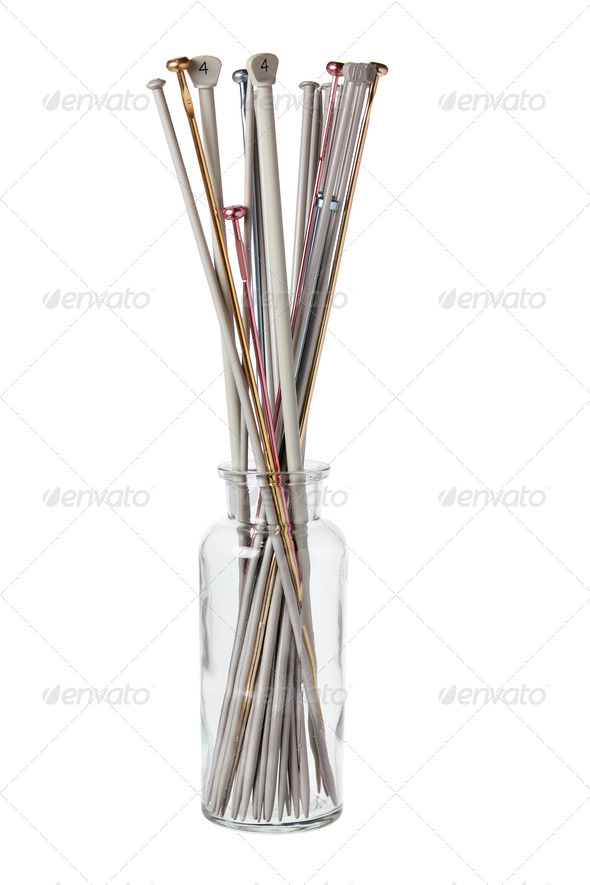 Knitting Needles - Stock Photo - Images