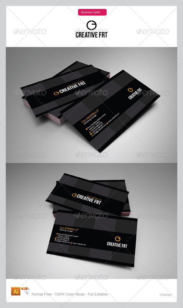 Corporate Business Cards 75 - Corporate Business Cards