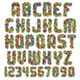 Motley Colorful Vector Font - GraphicRiver Item for Sale