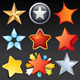 Vector Stars - GraphicRiver Item for Sale