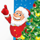 Santa Claus with Wishing List. - GraphicRiver Item for Sale