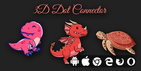 3D Dot Connector - Cross Platform Educational Game