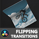 Flipping Transitions for DaVinci Resolve - VideoHive Item for Sale