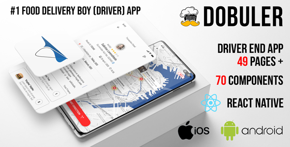 Dobuler - Driver App for iOS & Android