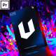 Unreal I Backgrounds and Posters Premiere Pro - VideoHive Item for Sale