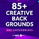 85+ Creative Backgrounds - VideoHive Item for Sale