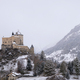 Tarasp castle in a misty and snow covered landscape - PhotoDune Item for Sale