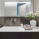 Interiors of the Modern Bathroom in the Foreground the Washbasin - PhotoDune Item for Sale