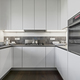 interior view of a white modern kitchen - PhotoDune Item for Sale